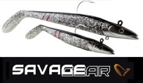 Savage Gear Sandeels in Dirty Silver