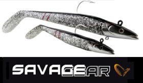 Savage Gear Sandeels in Dirty Silver